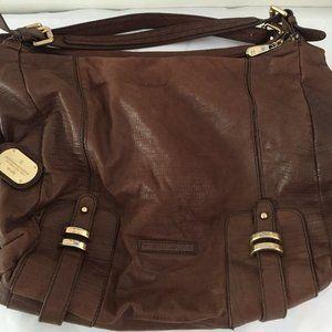 BCBG Maxazria leather shoulder bag